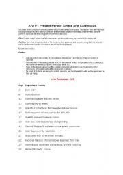 English Worksheets: Business Profile