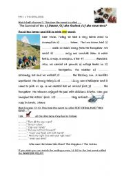 English Worksheet: THE CHALLENGE DVD reality show