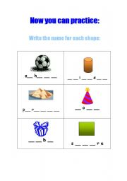 English Worksheets: SOLID FIGURES