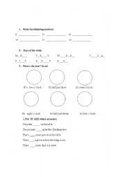 English Worksheets: Practice
