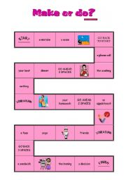 make and do collocations pdf
