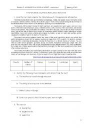 English Worksheets: Visiting Malta