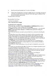 English Worksheets: Win a trip you won�t forget
