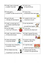 English Worksheet: Conditionals practice game