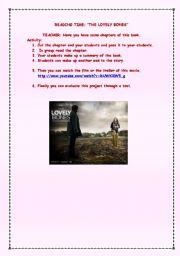 English Worksheet: THE LOVELY BONES