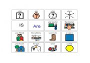 English Worksheets: Creating questions using wordss and pictures
