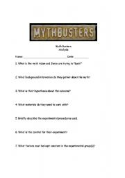 Worksheets Mythbusters Scientific Method Worksheet mythbusters worksheet templates and worksheets