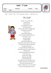 English Worksheets: The Shell