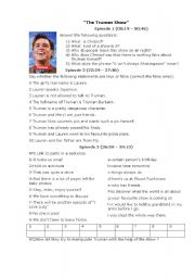 English Worksheets: TRUMAN SHOW