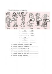 English Worksheet: TIME: BEFORE AND AFTER