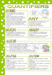 QUANTIFIERS (editable, with key)