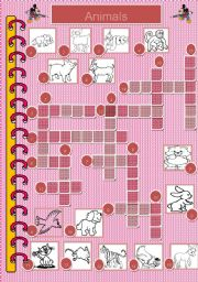 Crossword - Animals