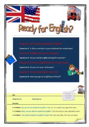 Ready for English?