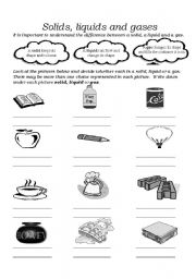 english worksheets solids liquids and gases. Black Bedroom Furniture Sets. Home Design Ideas