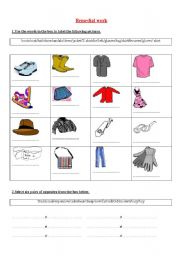 English Worksheets: remedial work