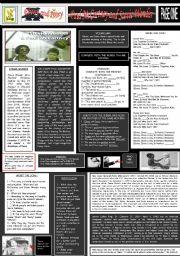 English Worksheet: EBONY AND IVORY - PAUL McCARTNEY AND STEVIE WONDER - PART 01