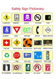 Worksheets Safety Signs Worksheets safety signs worksheets printable intrepidpath english worksheet sign pictionary