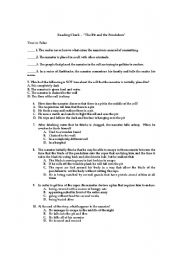English teaching worksheets: Edgar Allan Poe
