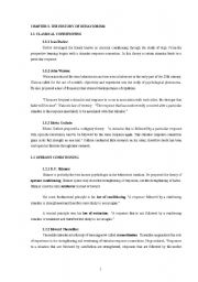 English Worksheets: behaviourism