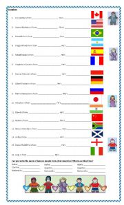 countries and nationalities 2