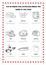English Teaching Worksheets Names