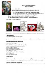 alice in wonderland quiz pdf