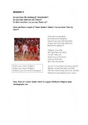 English Worksheet: HIGH SCHOOL MUSICAL 1 WORKSHOP (part 3 out of 8) What I�ve been looking for