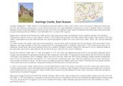 English Worksheet: Hastings castle
