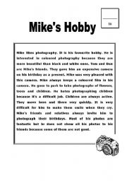 Mike´s Hobby