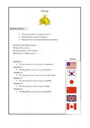 English Worksheets: Grade 6, Lesson 1 Korean National curriculum