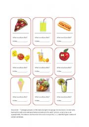 Food Cards Game_Some, a, an