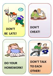 English Worksheets: flash card