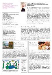 English Worksheets: Newslatter sample 2a