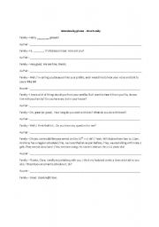 English worksheet: Interview by Phone