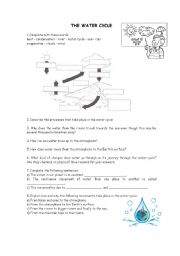 water cycle worksheet 2nd grade 1000 images about water cycle lesson plans on pinterest 5th. Black Bedroom Furniture Sets. Home Design Ideas