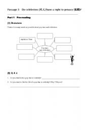 English Worksheets: reading writing worksheet 3