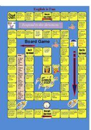 English worksheet: English is Fun (1)