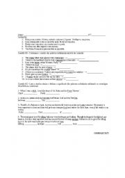 English Worksheet:  inference deduction