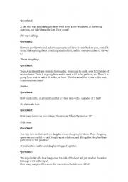 English worksheets: Questions worksheets, page 298