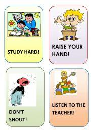 English Worksheets: flashcard