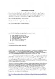 English Worksheets: Saint Paddy´s day reading comprehension