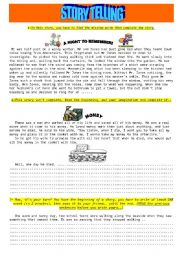 creative writing exercises elementary