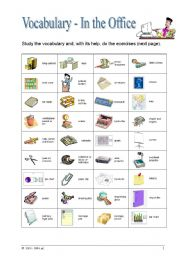 In The Office Esl Worksheet By Xinalisa