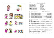 English worksheet: Colours and Clothes