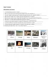 natural disasters vocabulary esl worksheet by bisseh22. Black Bedroom Furniture Sets. Home Design Ideas