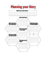 english worksheet story planner. Black Bedroom Furniture Sets. Home Design Ideas