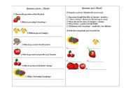 English worksheet: Exercise and quiz of plurals