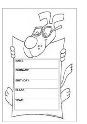 Vocabulary Worksheets   General Vocabulary   Caratula Para El Cuaderno