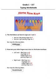 Printables Home Row Keys Worksheet english worksheets home row keys worksheet keys