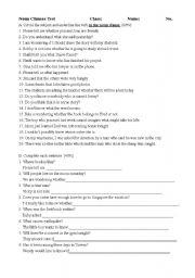 Noun clauses worksheets